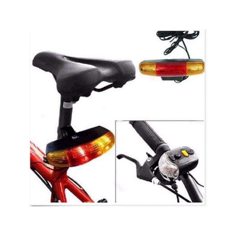 Обвес для повышения безопасности велосипеда 4 в 1 – стоп-сигнал, поворотники, габарит, гудок 193930