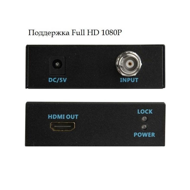 Конвертер 3G-SDI в HDMI формат (модель AY-3501) – Full HD 1080P, автоматическое определение SDI 193939