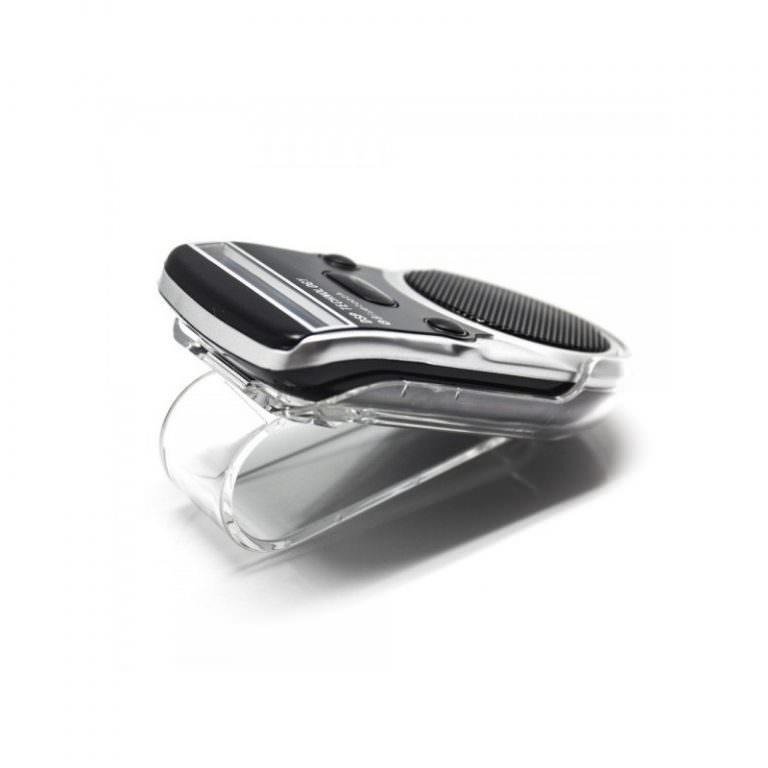 1323 - Автомобильный комплект громкой связи Bluetooth Car Kit с LCD-дисплеем и солнечной батареей
