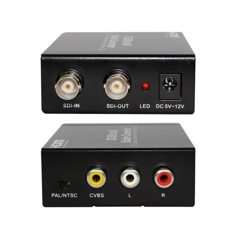 Конвертер SDI в AV (модель S007) – 3G-SDI, HD-SDI, SD-SDI, до 1080p 193953