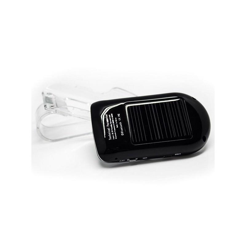 Автомобильный комплект громкой связи Bluetooth Car Kit с LCD-дисплеем и солнечной батареей 184355
