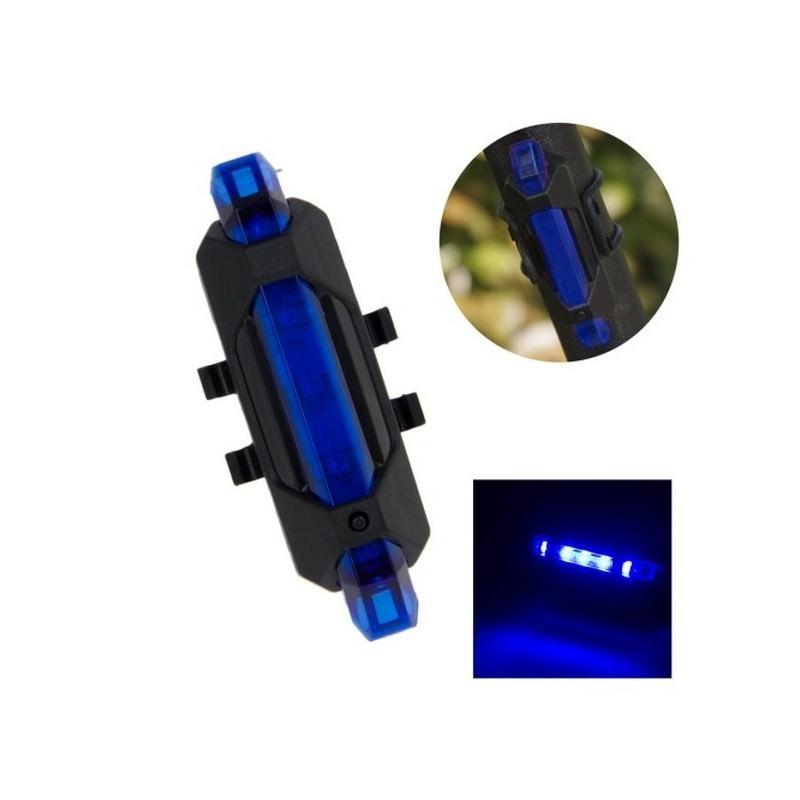 13257 - Светодиодный USB-фонарь для велосипеда Rapid X15 - 15 лм, до 12 часов работы, зарядка через USB, 4 режима