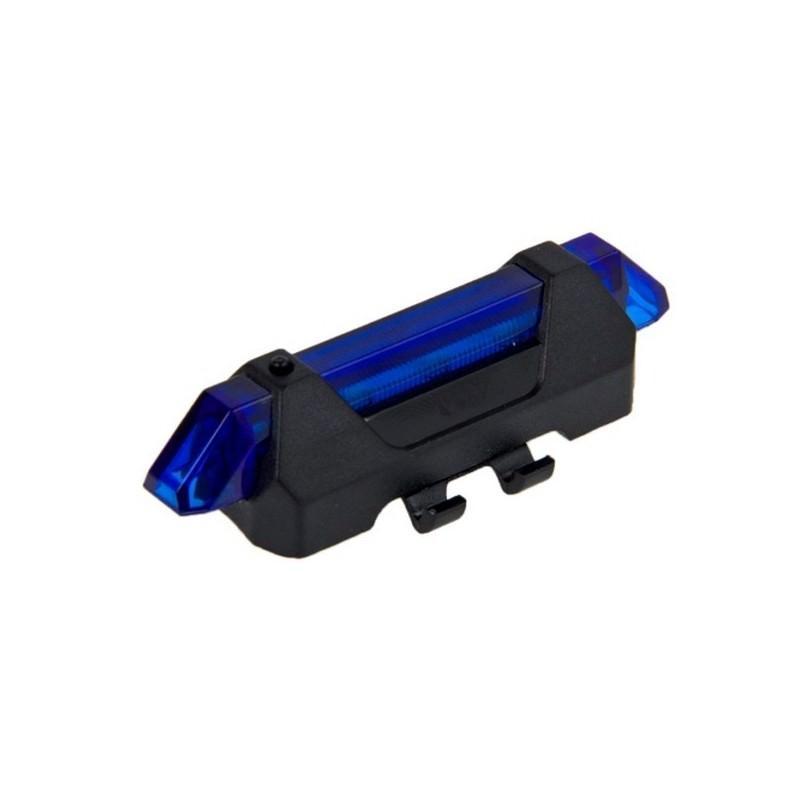 13258 - Светодиодный USB-фонарь для велосипеда Rapid X15 - 15 лм, до 12 часов работы, зарядка через USB, 4 режима