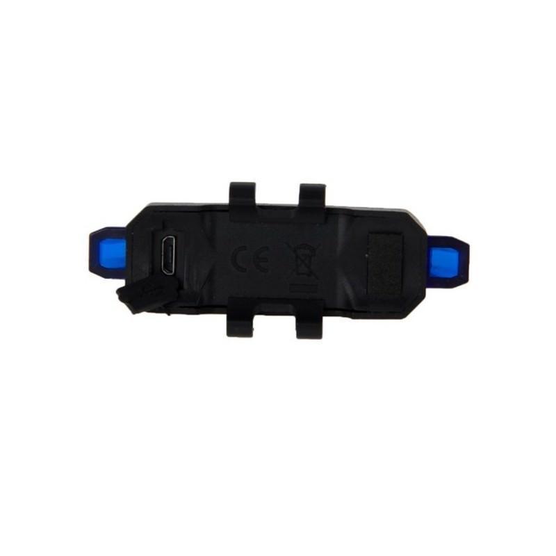 13259 - Светодиодный USB-фонарь для велосипеда Rapid X15 - 15 лм, до 12 часов работы, зарядка через USB, 4 режима