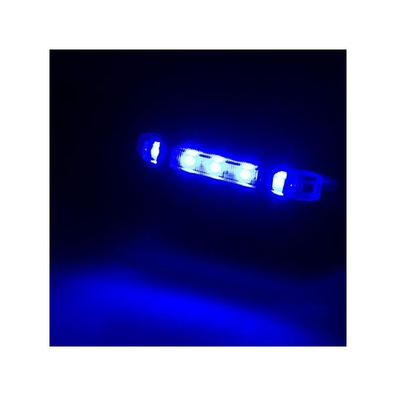 13264 - Светодиодный USB-фонарь для велосипеда Rapid X15 - 15 лм, до 12 часов работы, зарядка через USB, 4 режима