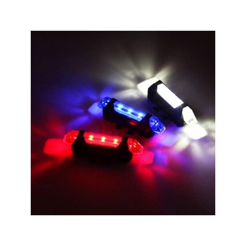 13265 - Светодиодный USB-фонарь для велосипеда Rapid X15 - 15 лм, до 12 часов работы, зарядка через USB, 4 режима