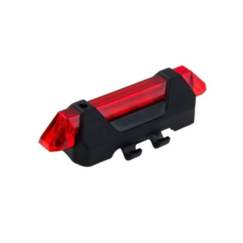 13266 - Светодиодный USB-фонарь для велосипеда Rapid X15 - 15 лм, до 12 часов работы, зарядка через USB, 4 режима