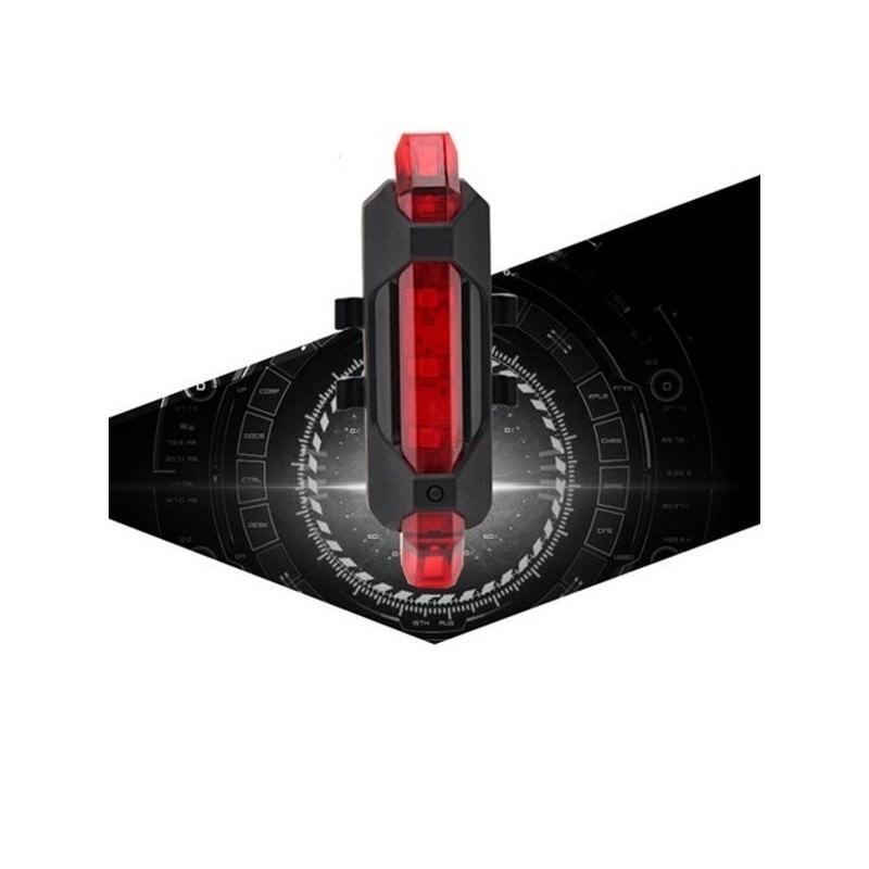 13267 - Светодиодный USB-фонарь для велосипеда Rapid X15 - 15 лм, до 12 часов работы, зарядка через USB, 4 режима