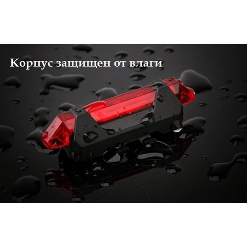 13270 - Светодиодный USB-фонарь для велосипеда Rapid X15 - 15 лм, до 12 часов работы, зарядка через USB, 4 режима