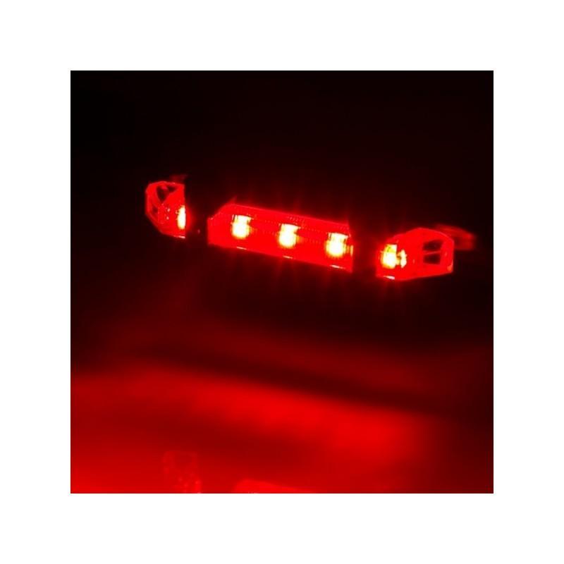 13272 - Светодиодный USB-фонарь для велосипеда Rapid X15 - 15 лм, до 12 часов работы, зарядка через USB, 4 режима