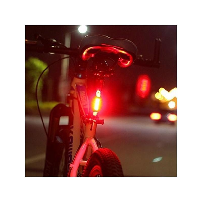 13274 - Светодиодный USB-фонарь для велосипеда Rapid X15 - 15 лм, до 12 часов работы, зарядка через USB, 4 режима