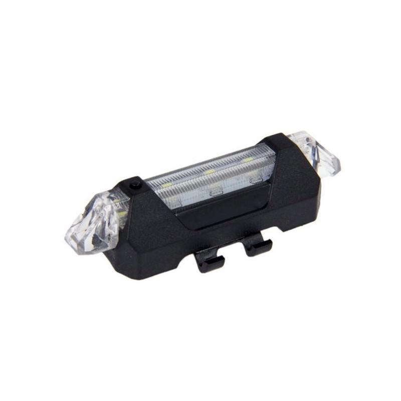 13275 - Светодиодный USB-фонарь для велосипеда Rapid X15 - 15 лм, до 12 часов работы, зарядка через USB, 4 режима