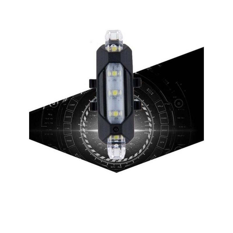 13276 - Светодиодный USB-фонарь для велосипеда Rapid X15 - 15 лм, до 12 часов работы, зарядка через USB, 4 режима