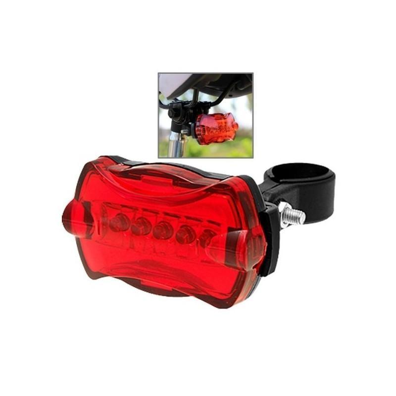 Яркий светодиодный велофонарь Shihe – 5 светодиодов, 7 режимов, до 150 часов