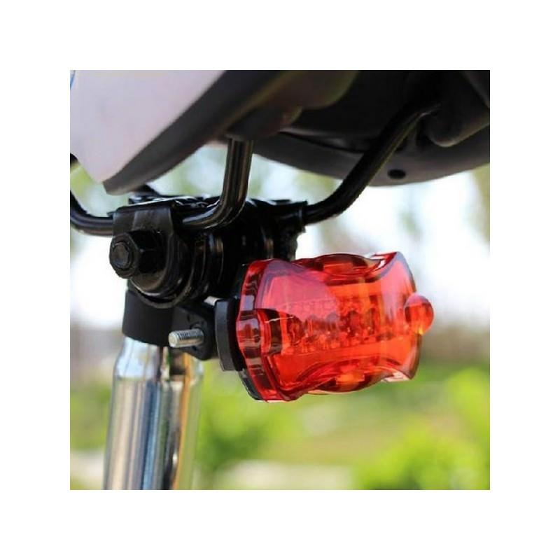 Яркий светодиодный велофонарь Shihe – 5 светодиодов, 7 режимов, до 150 часов 193994