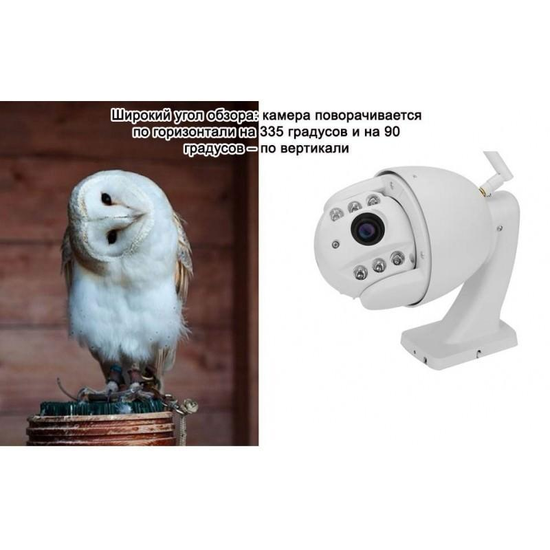 Универсальная IP-камера S.V.A 5X-I507: HD 1080P, PTZ, 5 x зум, ночное видение 20м, 1/2.7-дюйма Sony CMOS, погодоустойчивая 193999