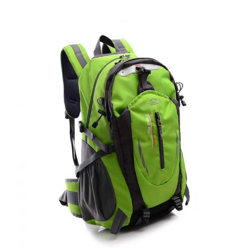 Спортивный водонепроницаемый рюкзак SportM301: 40 л, нейлон - Зеленый