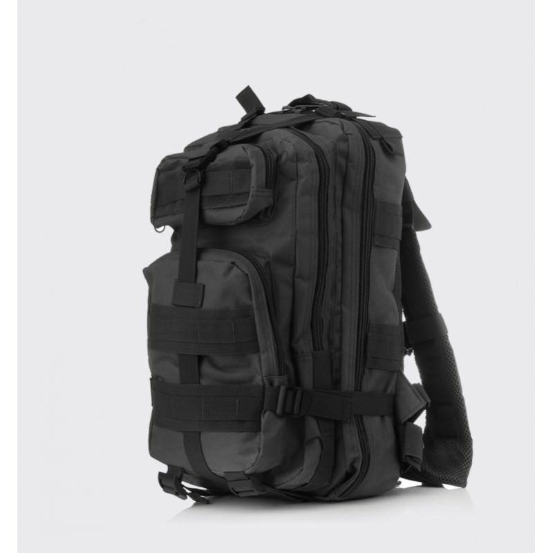 13450 - Недорогой камуфляжный тактический рюкзак 3P-Zone с системой M.O.L.L.E: 30л, водоотталкивающий нейлон
