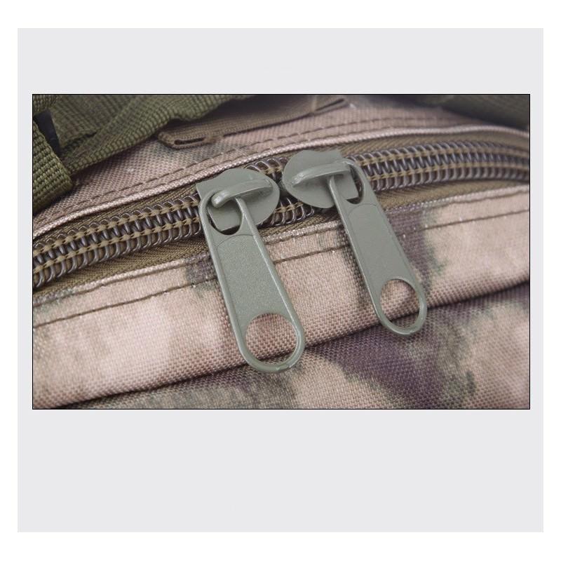 13453 - Недорогой камуфляжный тактический рюкзак 3P-Zone с системой M.O.L.L.E: 30л, водоотталкивающий нейлон