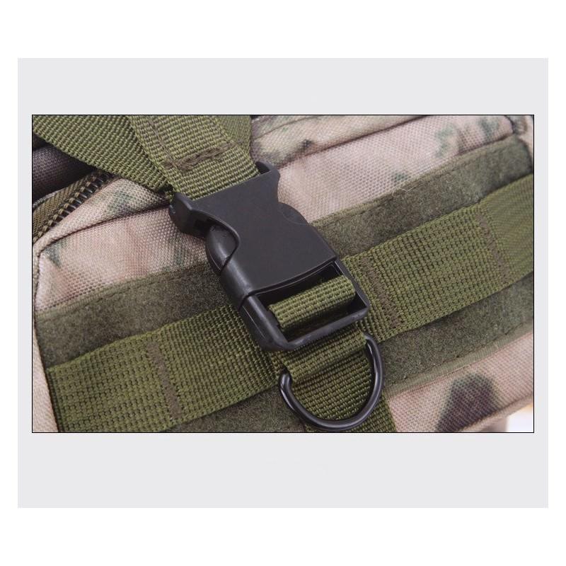 13454 - Недорогой камуфляжный тактический рюкзак 3P-Zone с системой M.O.L.L.E: 30л, водоотталкивающий нейлон