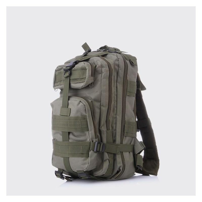 13457 - Недорогой камуфляжный тактический рюкзак 3P-Zone с системой M.O.L.L.E: 30л, водоотталкивающий нейлон