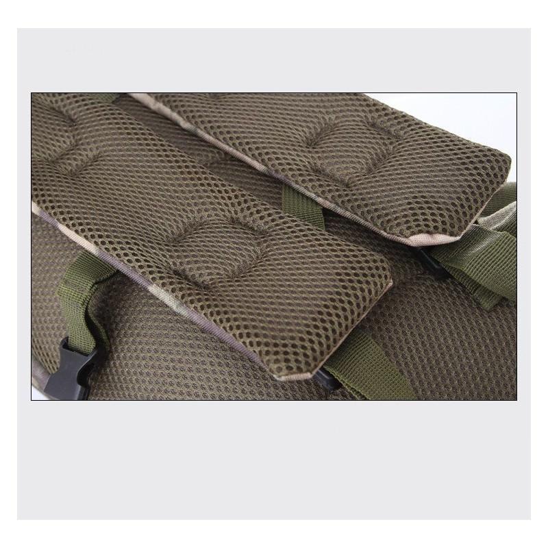13461 - Недорогой камуфляжный тактический рюкзак 3P-Zone с системой M.O.L.L.E: 30л, водоотталкивающий нейлон