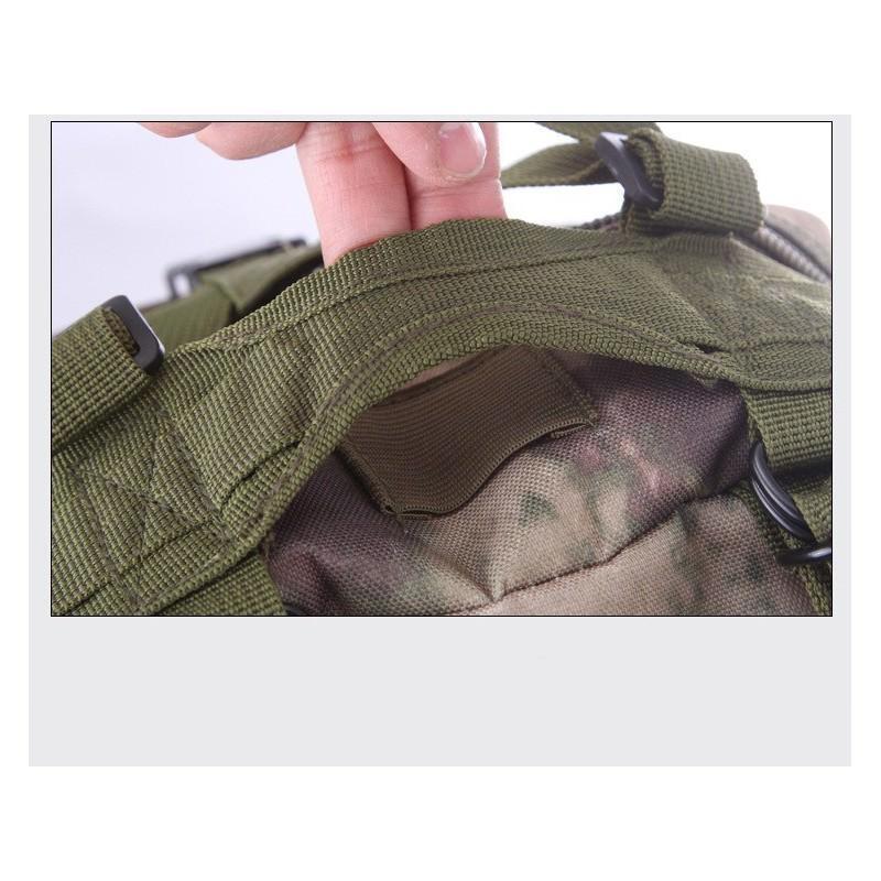 13462 - Недорогой камуфляжный тактический рюкзак 3P-Zone с системой M.O.L.L.E: 30л, водоотталкивающий нейлон