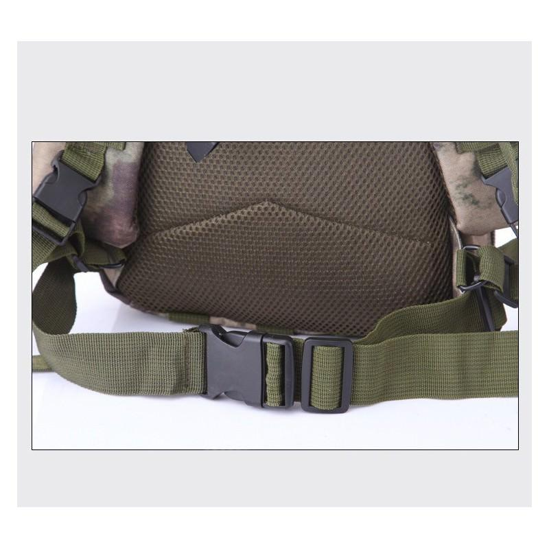 13467 - Недорогой камуфляжный тактический рюкзак 3P-Zone с системой M.O.L.L.E: 30л, водоотталкивающий нейлон