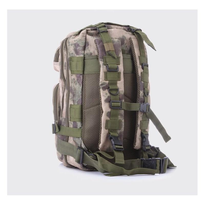13468 - Недорогой камуфляжный тактический рюкзак 3P-Zone с системой M.O.L.L.E: 30л, водоотталкивающий нейлон