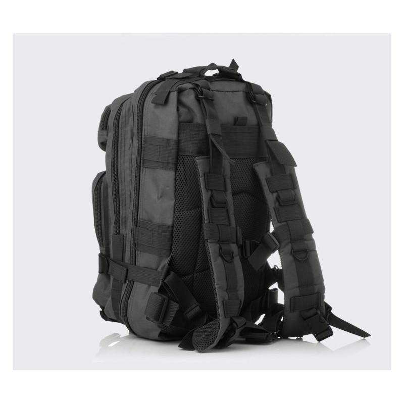 13470 - Недорогой камуфляжный тактический рюкзак 3P-Zone с системой M.O.L.L.E: 30л, водоотталкивающий нейлон