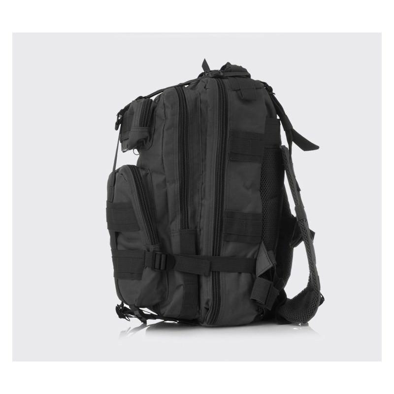 13471 - Недорогой камуфляжный тактический рюкзак 3P-Zone с системой M.O.L.L.E: 30л, водоотталкивающий нейлон