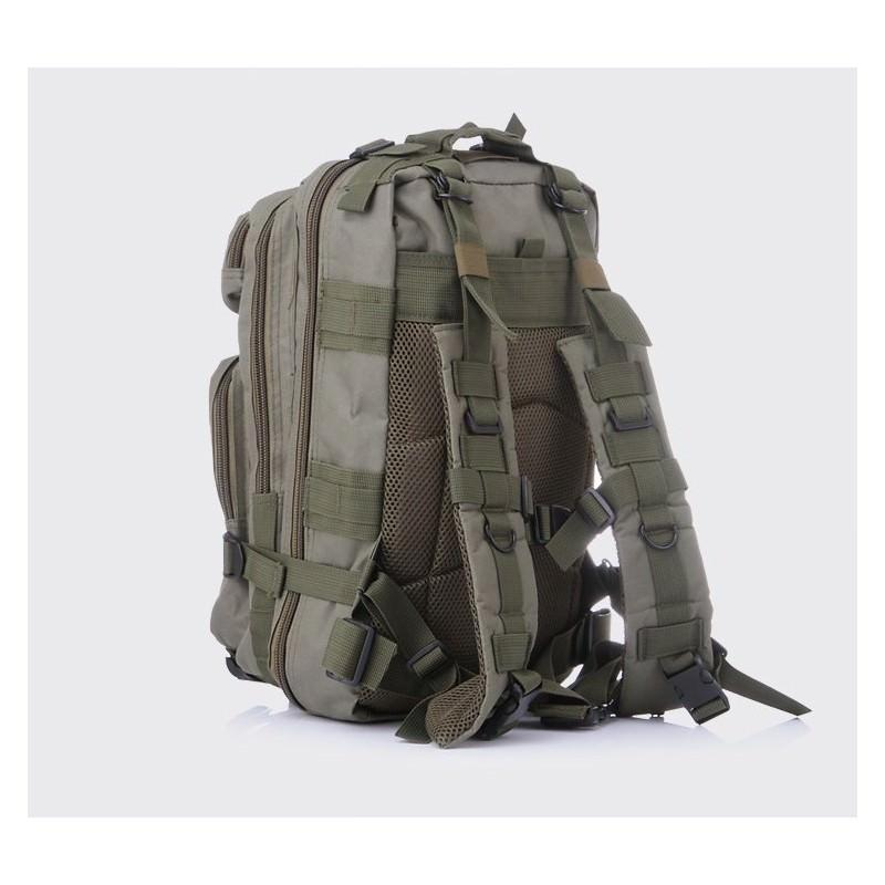 13480 - Недорогой камуфляжный тактический рюкзак 3P-Zone с системой M.O.L.L.E: 30л, водоотталкивающий нейлон