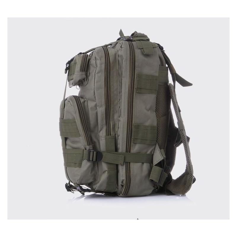 13481 - Недорогой камуфляжный тактический рюкзак 3P-Zone с системой M.O.L.L.E: 30л, водоотталкивающий нейлон
