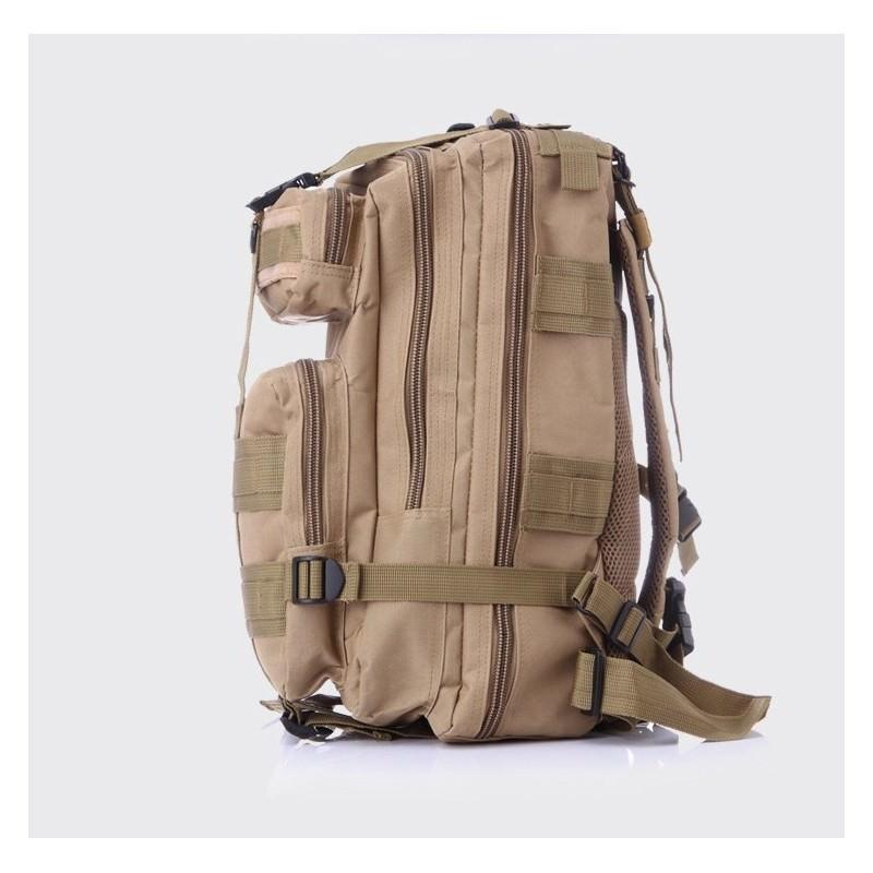 13483 - Недорогой камуфляжный тактический рюкзак 3P-Zone с системой M.O.L.L.E: 30л, водоотталкивающий нейлон
