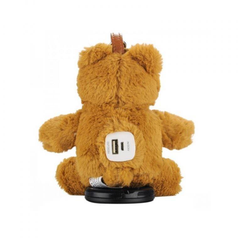 1374 - Медведь с USB-зарядкой в ****е (power-bank 5200 мАч, 500 циклов заряда)