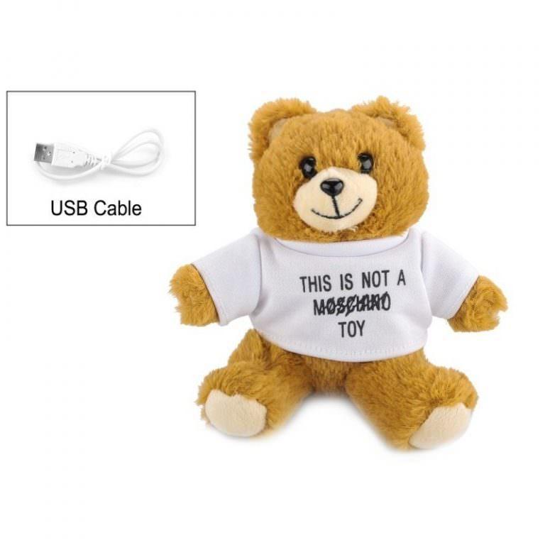 1376 - Медведь с USB-зарядкой в ****е (power-bank 5200 мАч, 500 циклов заряда)