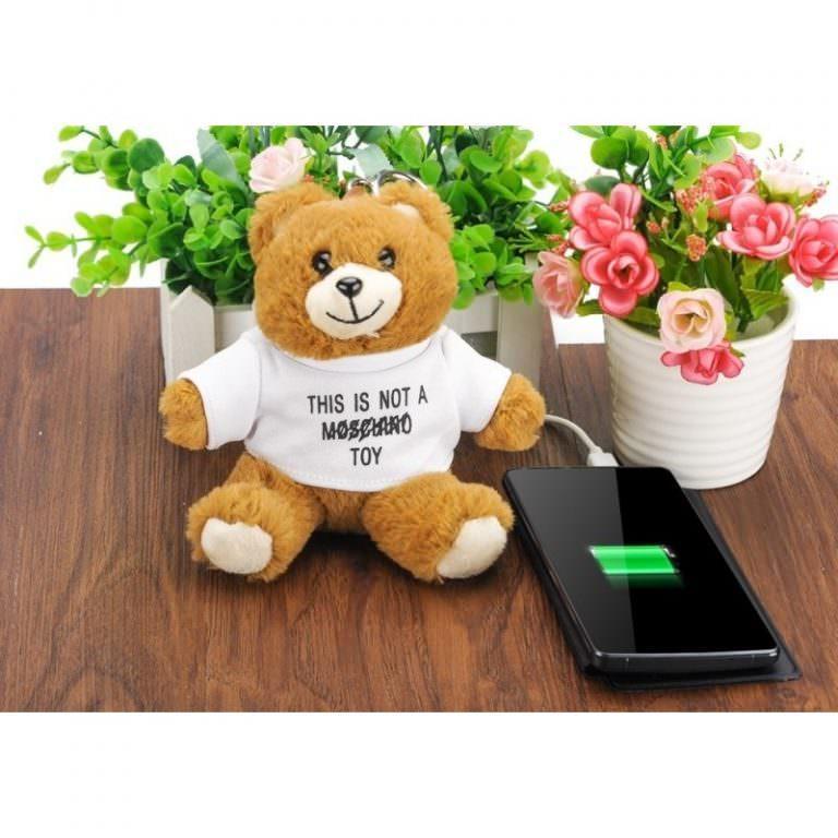 1379 - Медведь с USB-зарядкой в ****е (power-bank 5200 мАч, 500 циклов заряда)