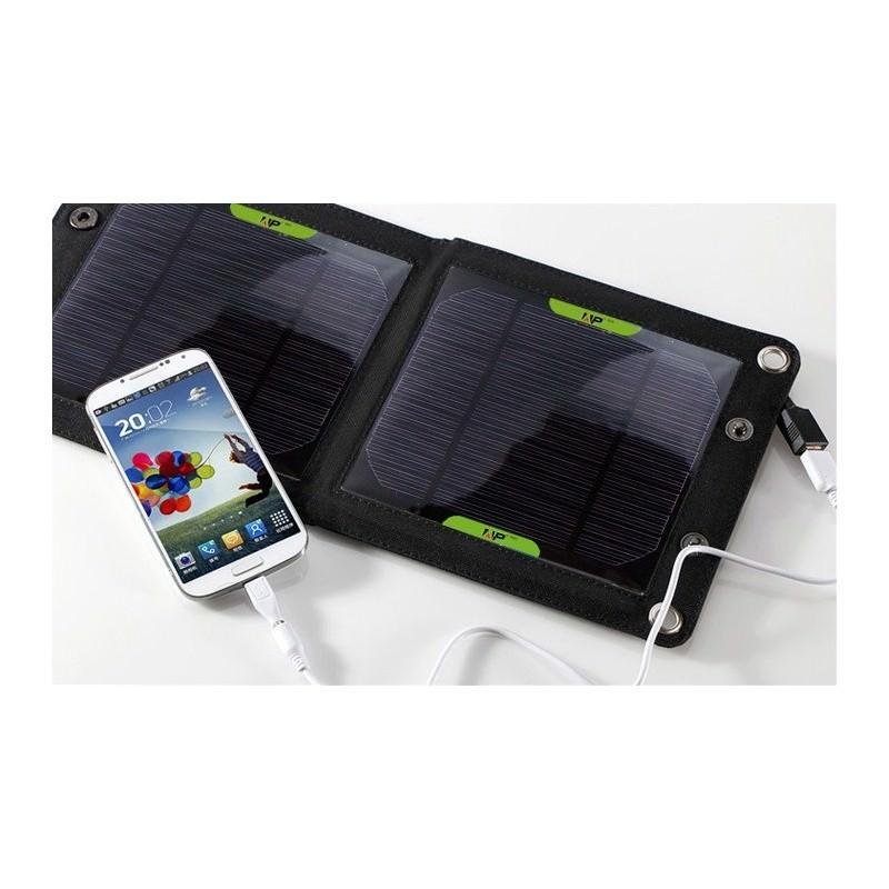 Комплект: Камуфляжный туристический рюкзак Jack Wolfskin 80 л с системой M.O.L.L.E + Портативное солнечное зарядное 7 Вт 194517