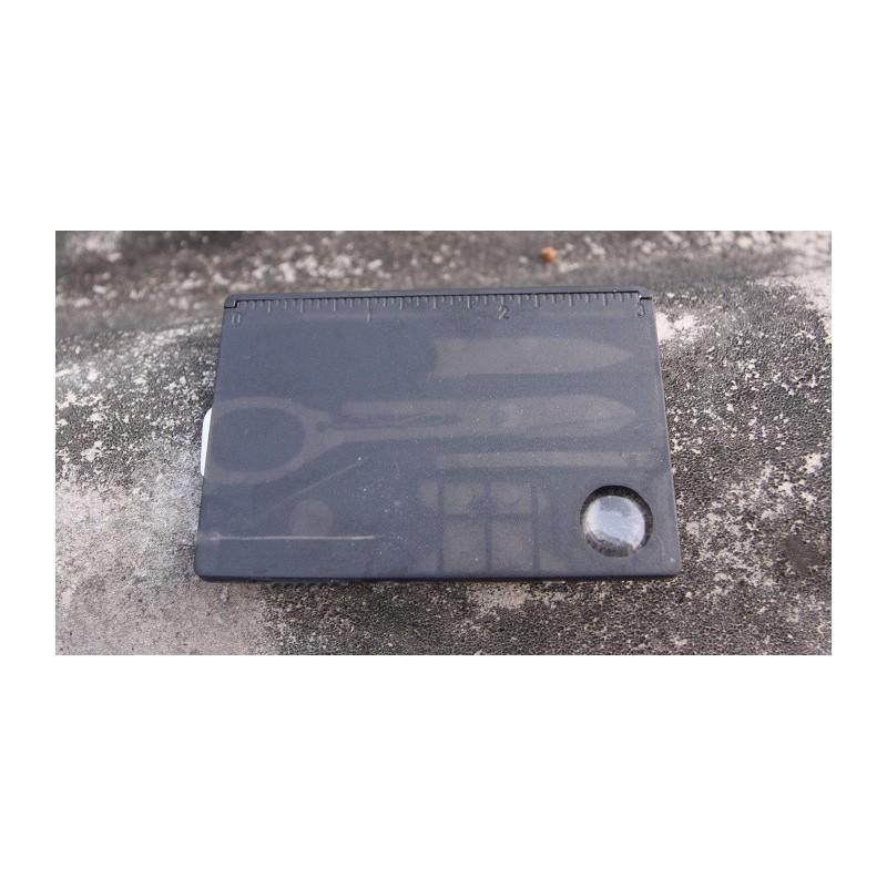 13954 - Складной нож-карточка – карманный набор инструментов 9 в 1
