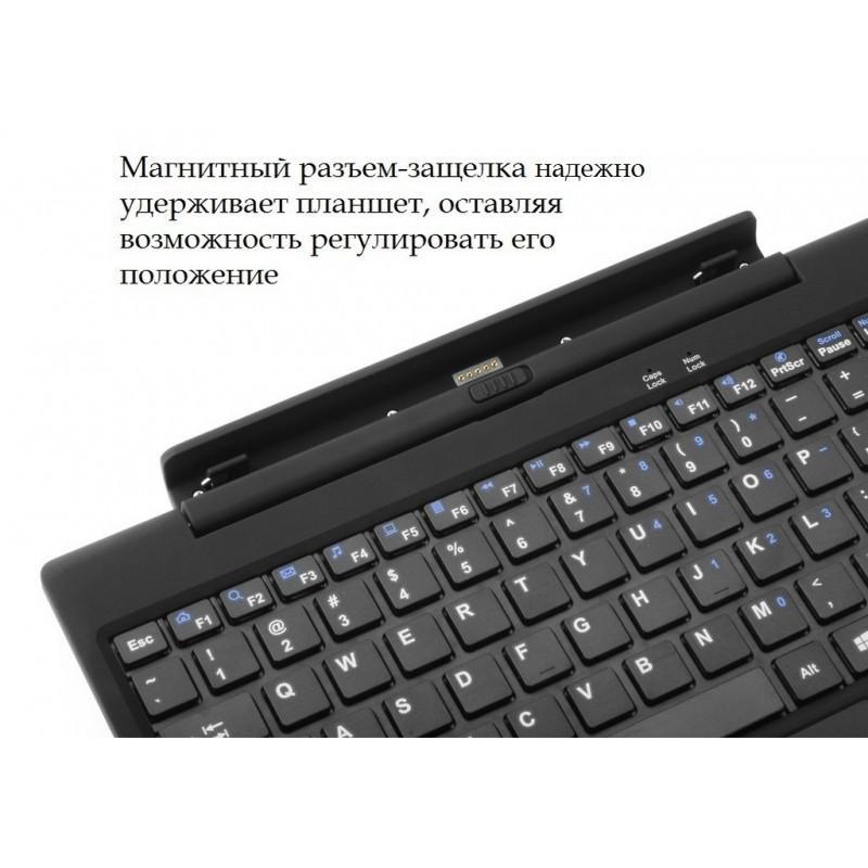 Беспроводная клавиатура для планшета Chuwi Hi10 – качественный пластик, магнитный разъем 194664