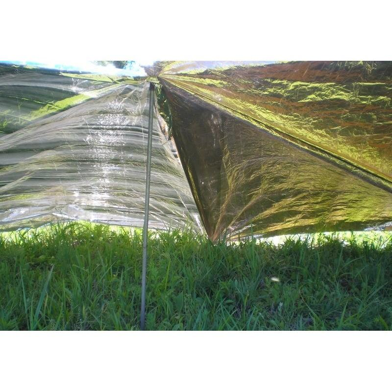 Комплект из двух алюминизированных одеял для туризма, кемпинга, чрезвычайных ситуаций: 160 x 210 см + 130 х 120 см 194738