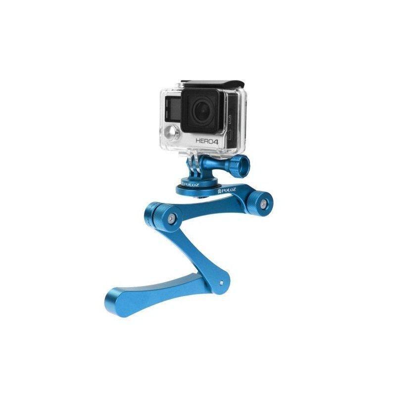 Складной монопод/селфи-палка для камеры GoPro HERO 4 / 3 + / 3 / 2, Xiaoyi, SJ4000, SJ5000, SJ6000