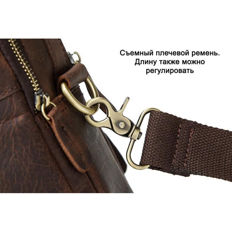 Мужская кожаная сумка-портфель Westborn Bestseller – натуральная кожа, солидный дизайн 194950