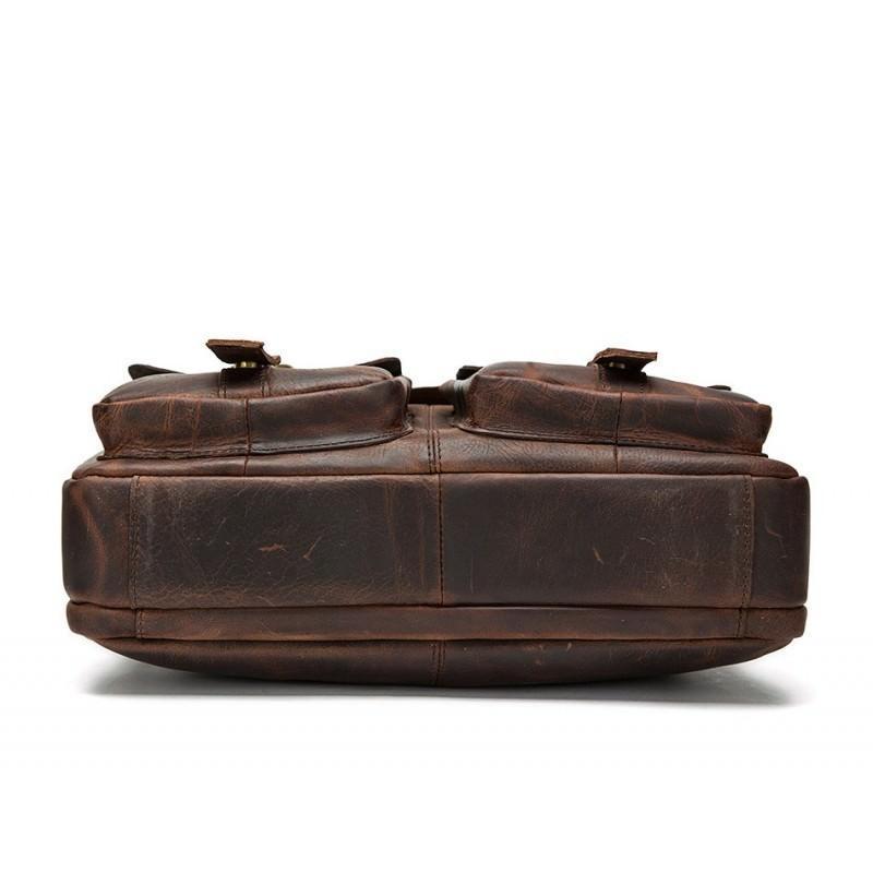 Мужская кожаная сумка-портфель Westborn Bestseller – натуральная кожа, солидный дизайн 194953