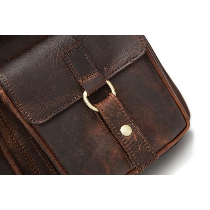 Мужская кожаная сумка-портфель Westborn Bestseller – натуральная кожа, солидный дизайн 194954