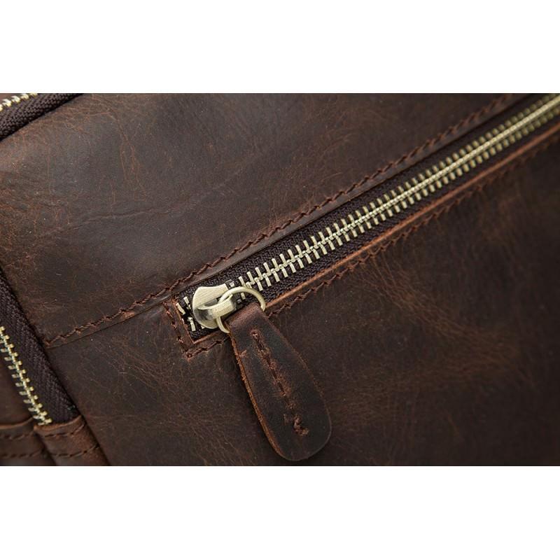Мужская кожаная сумка-портфель Westborn Bestseller – натуральная кожа, солидный дизайн 194955