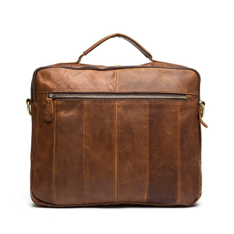 Мужская кожаная сумка-портфель Westborn Bestseller – натуральная кожа, солидный дизайн 194957