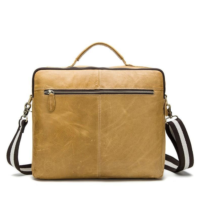 Мужская кожаная сумка-портфель Westborn Bestseller – натуральная кожа, солидный дизайн 194962