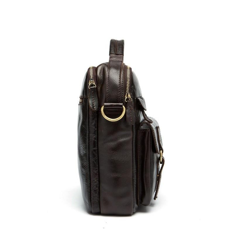 Мужская кожаная сумка-портфель Westborn Bestseller – натуральная кожа, солидный дизайн 194965