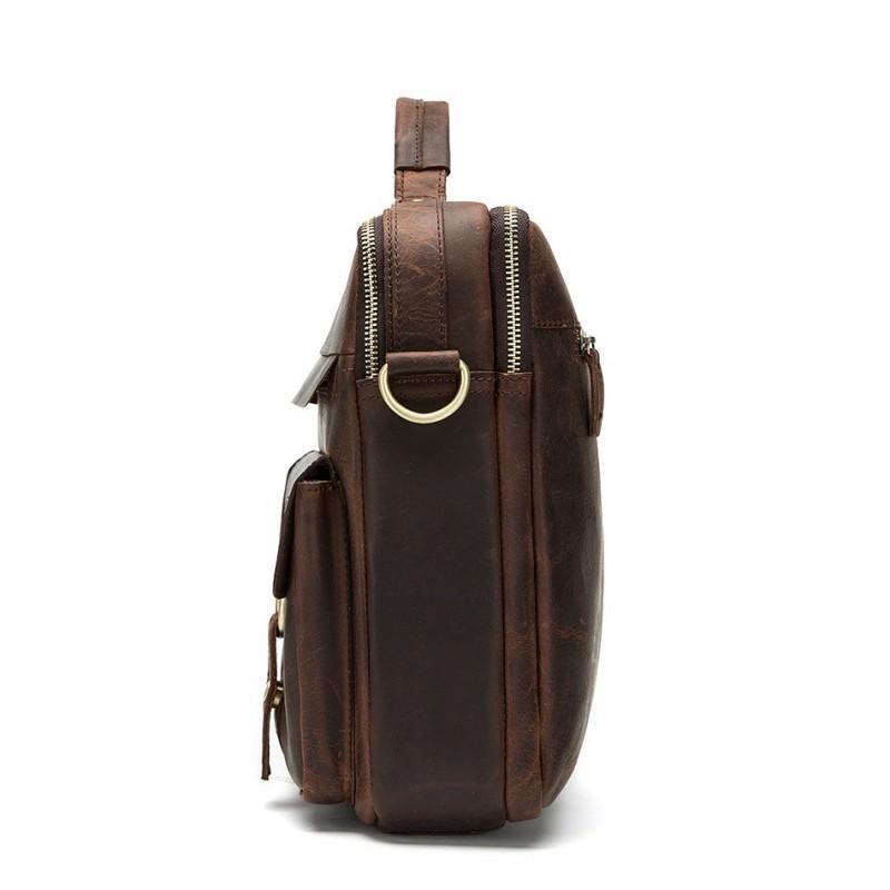 Мужская кожаная сумка-портфель Westborn Bestseller – натуральная кожа, солидный дизайн 194970